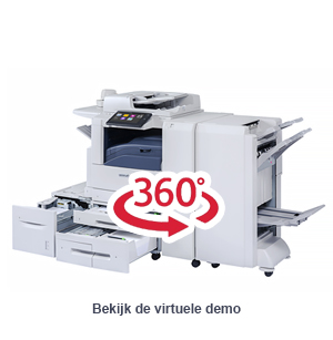 Virtuele demo Xerox AltaLink B8000