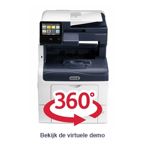 Virtuele demo Xerox VersaLink C405